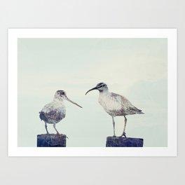 Gossip Art Print