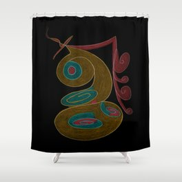 Sabelina IV Shower Curtain