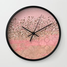 Pink Moroccan Princess Wall Clock