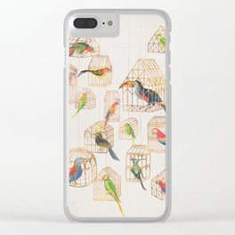 Architectural Aviary Clear iPhone Case