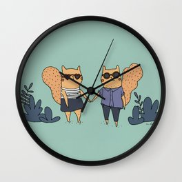The couple Wall Clock