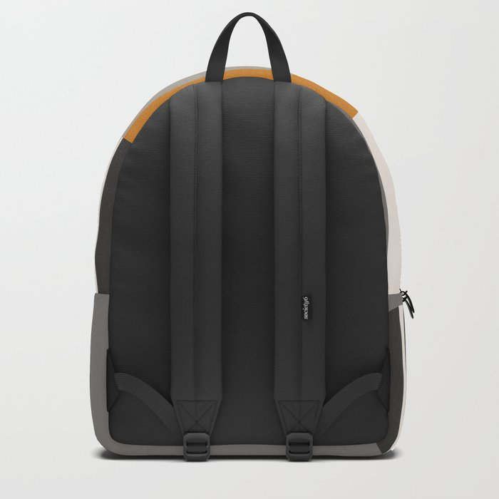 PLUGGED INTO LIFE (abstract geometric) Backpack