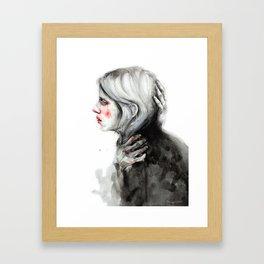 I need protection Framed Art Print