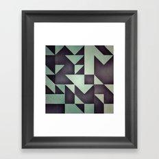 :: geometric maze VIII :: Framed Art Print