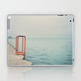 the orange steps ... Laptop & iPad Skin