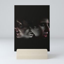 LAUGHING ON THE OUTSIDE Mini Art Print