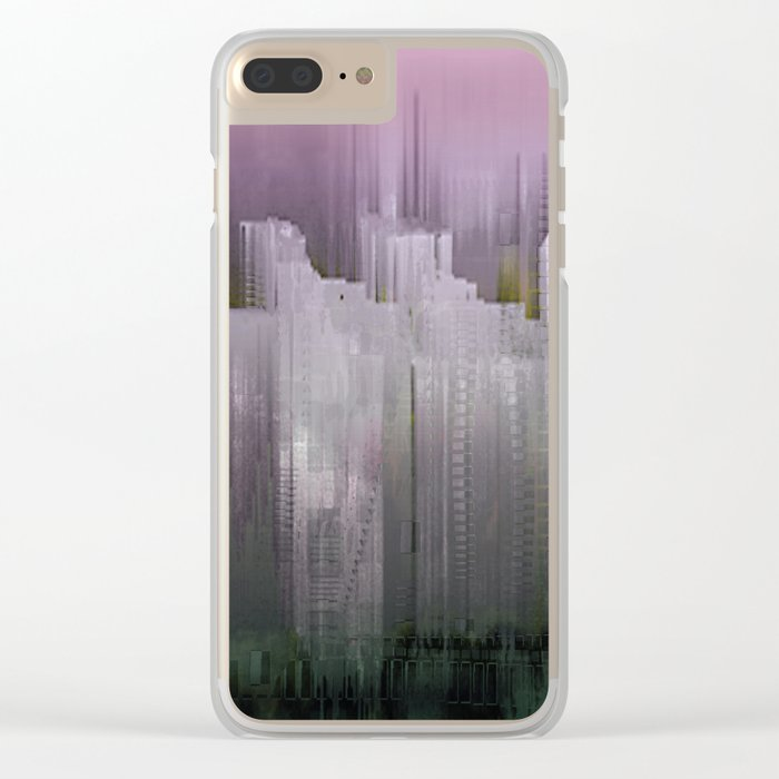 Melancholy / Floating Town / 30-11-16 Clear iPhone Case