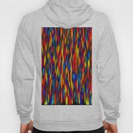 primary verticals on black Hoody