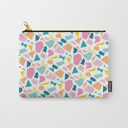 Jumpy -- abstract geometric preppy pastel bright pattern modern minimalist Carry-All Pouch