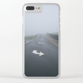 Fogged In/Wrong Way Clear iPhone Case