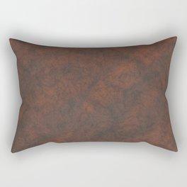 Rusty Rock Stone Wall Rectangular Pillow