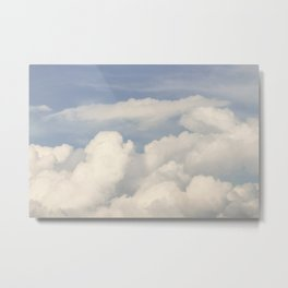 expectations · clouds Metal Print