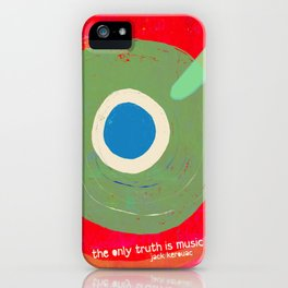 Music - the only truth iPhone Case