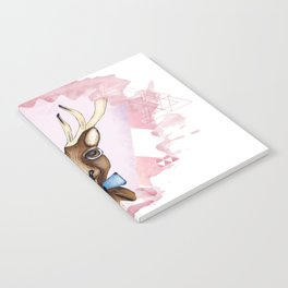 Pink Deer - Ciervo Rosa Notebook