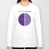 shadow Long Sleeve T-shirts featuring Shadow by Halfmoon Industries