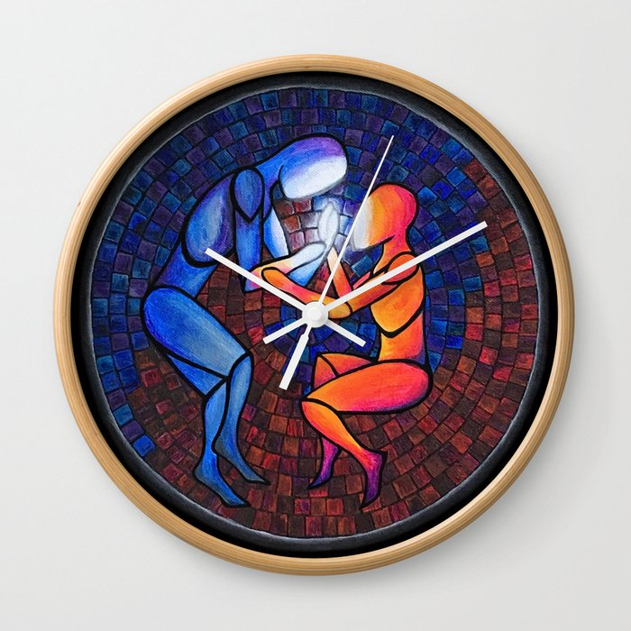 Find Your Heart(h) Wall Clock