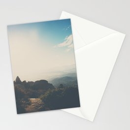 morning light on Mount Woodson, California Stationery Cards