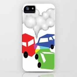 RGBed iPhone Case