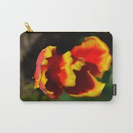 Flame Parrot Tulip by Teresa Thompson Carry-All Pouch