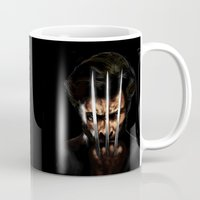 x men Mugs featuring x men by Fila Venom Art