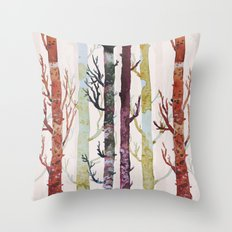 the real florest Throw Pillow