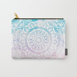 Pastel Clouds Mandala Carry-All Pouch