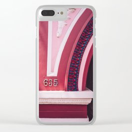San Francisco Pink Clear iPhone Case