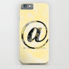 At Sign {@} Series - Baskerville Typeface Slim Case iPhone 6s