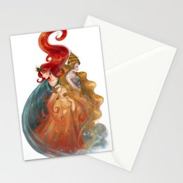The Three Queens Stationery Cards