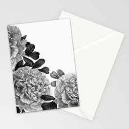 Flowers in the morning Stationery Cards