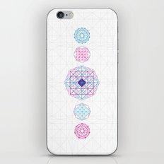 Geometric scream iPhone & iPod Skin