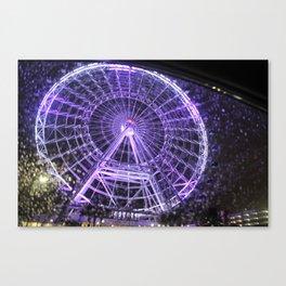 Colorful Eye Canvas Print
