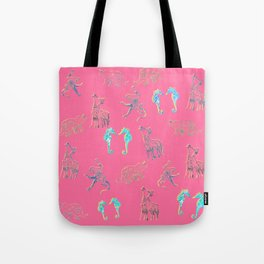 Cute mandala animals Tote Bag