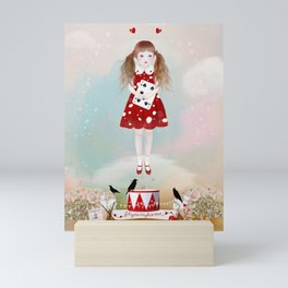 ladybird Mini Art Print