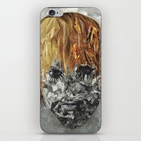 kurt cobain iPhone & iPod Skins featuring Kurt Cobain by Smith Smith