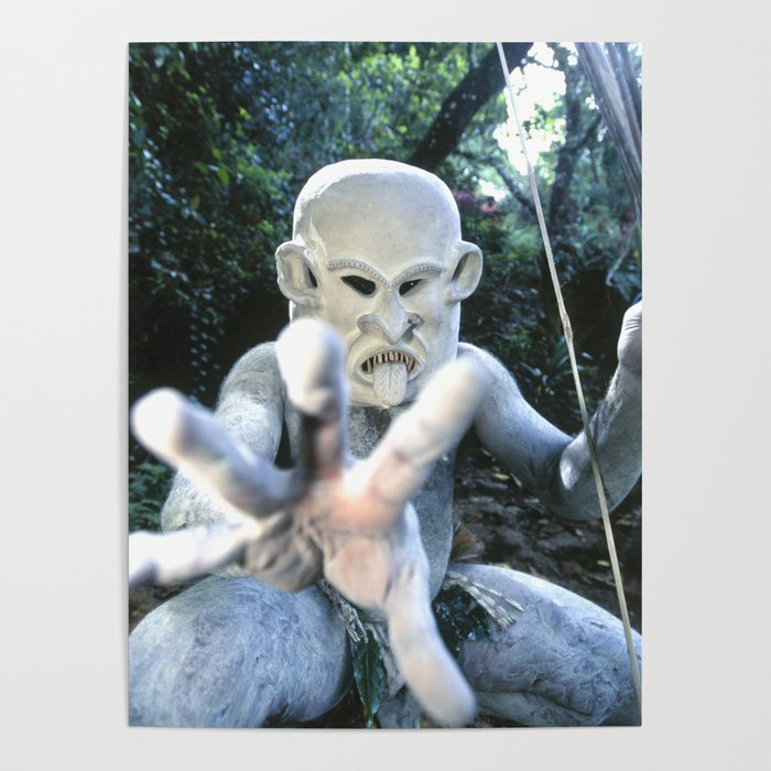 Papua New Guinea Ghost Poster