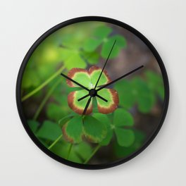 Color Me Lucky! Wall Clock