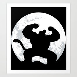 Night Monkey Art Print