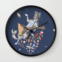Balalaika Laika Wall Clock