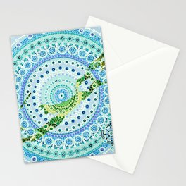 Bermuda Mandala Stationery Cards