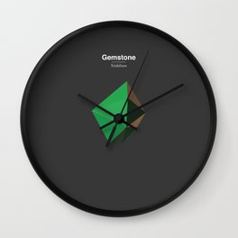 Gemstone - Xirdalium Wall Clock