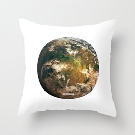 Romulus - Romulan Home World Throw Pillow
