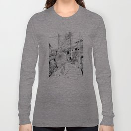 Kyoto - the old city Long Sleeve T-shirt
