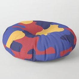 Blob of Camouflage Floor Pillow