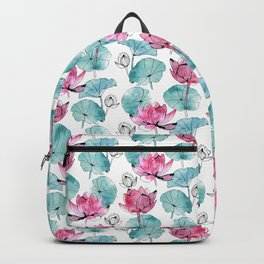 Waterlily buds Backpack