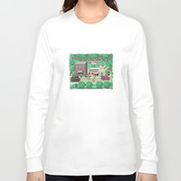 earthbound Long Sleeve T-shirts featuring Earthbound town by likelikes