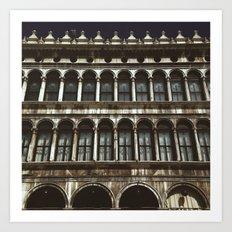 Facade on Piazza San Marco Art Print