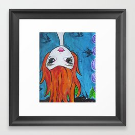 Hanging In Framed Art Print