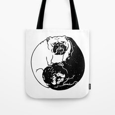 The Tao of English Bulldog Tote Bag