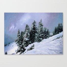 Hidden Peak Canvas Print